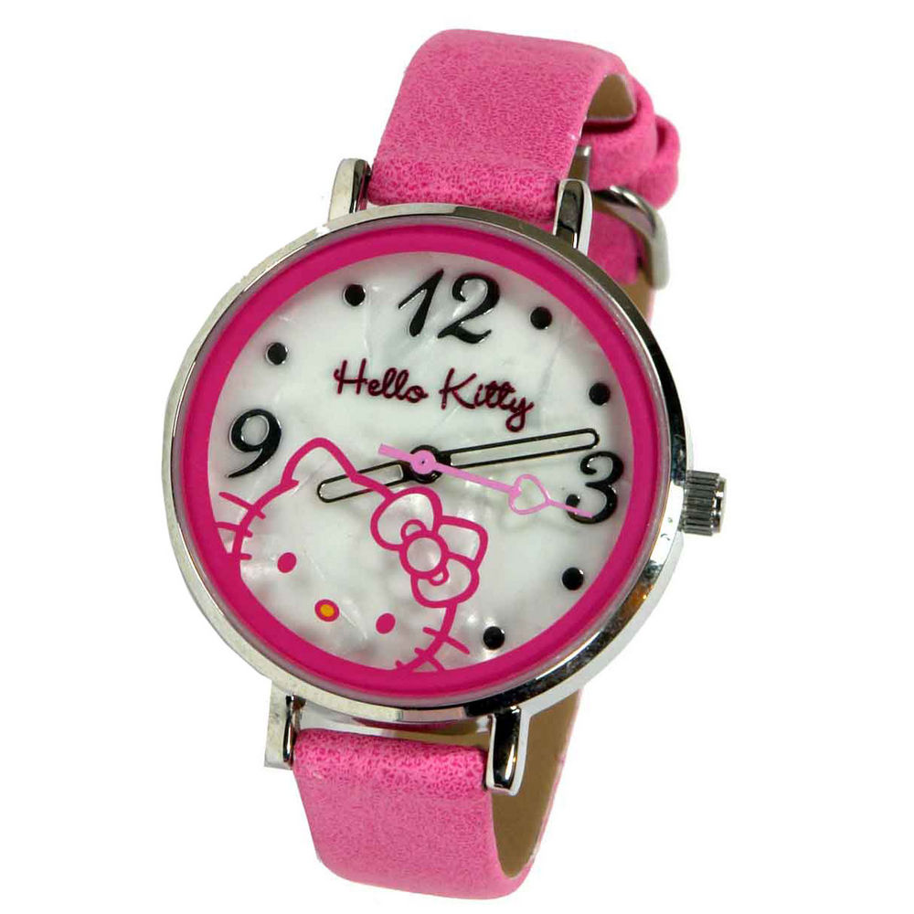 Analogico Reloj Hello Kitty Metalica Caja CxdBoeWQr