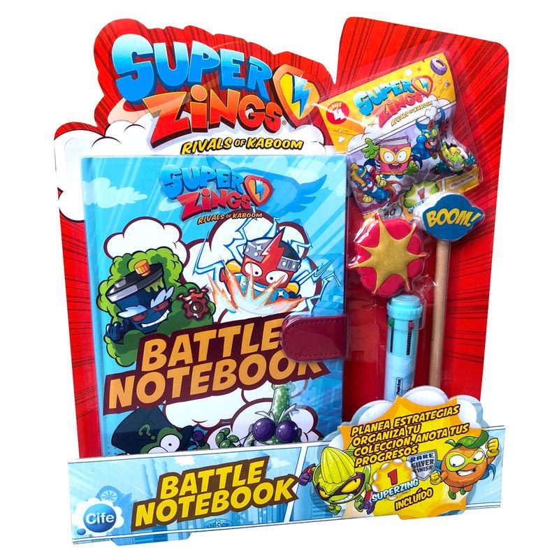 Set cuaderno de Combate Superzings 8435442419417
