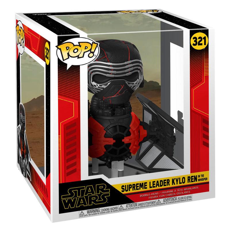 Funko POP o Figura POP Star Wars Rise of Skywalker Kylo Ren in Whisper (2)