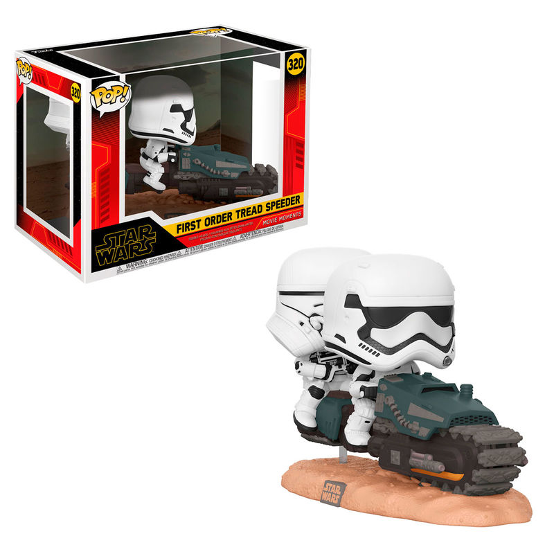 Funko POP o Figura POP Star Wars Rise of Skywalker Tread Speeder
