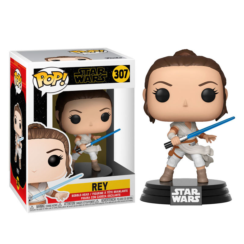Funko POP o Figura POP Star Wars Rise of Skywalker Rey