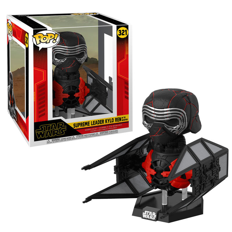 Funko POP o Figura POP Star Wars Rise of Skywalker Kylo Ren in Whisper