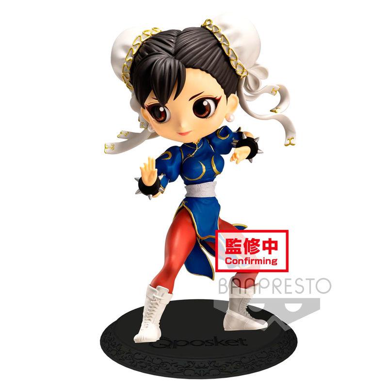Figura Chun-Li Street Fighter Q Posket B 14cm By Banpresto