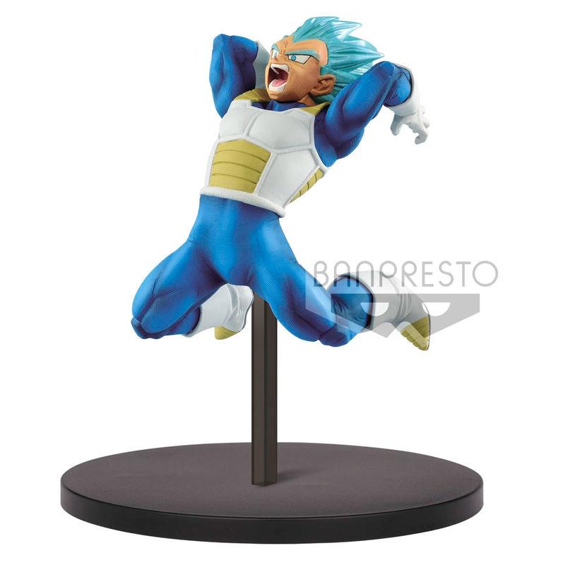 Figura Super Saiyan God Super Saiyan Vegeta Chosenshiretsuden Dragon Ball Super 12cm By Banpresto
