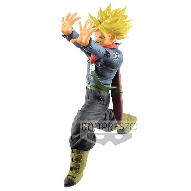 Figura Super Saiyan Trunks Future Galick Gun Dragon Ball Super 17cm 4983164818444
