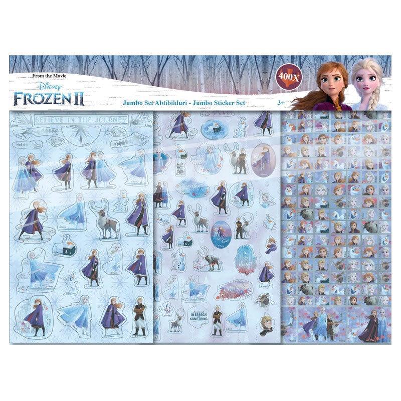 Blister 400 pegatinas Frozen 2 Disney