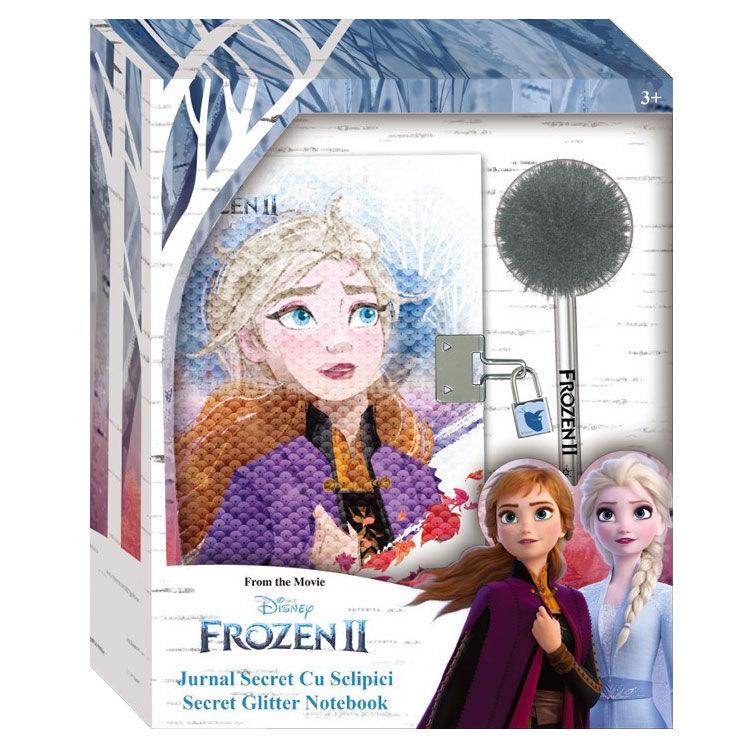 Diario secreto + boligrafo pompon Frozen 2 Disney