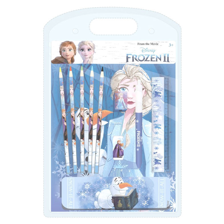 Set papeleria Frozen 2 Disney