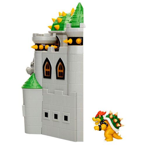 Mario Bros Deluxe Bowser Castle Playset