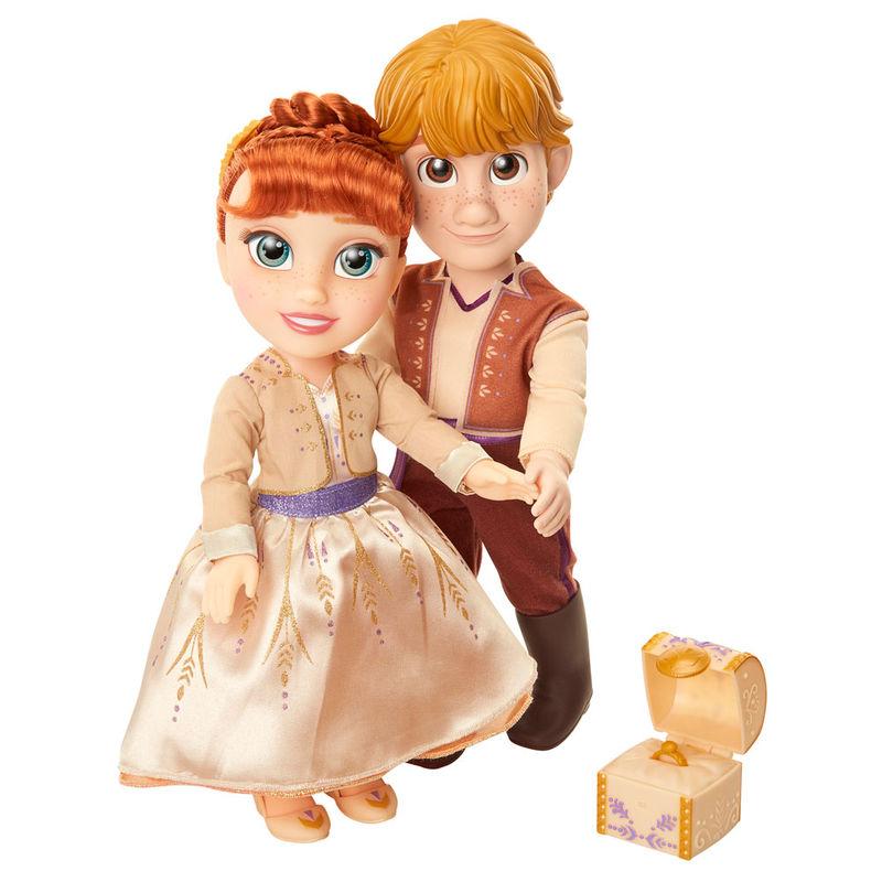 Set muñecos Anna & Kristoff Frozen 2 Disney 35cm