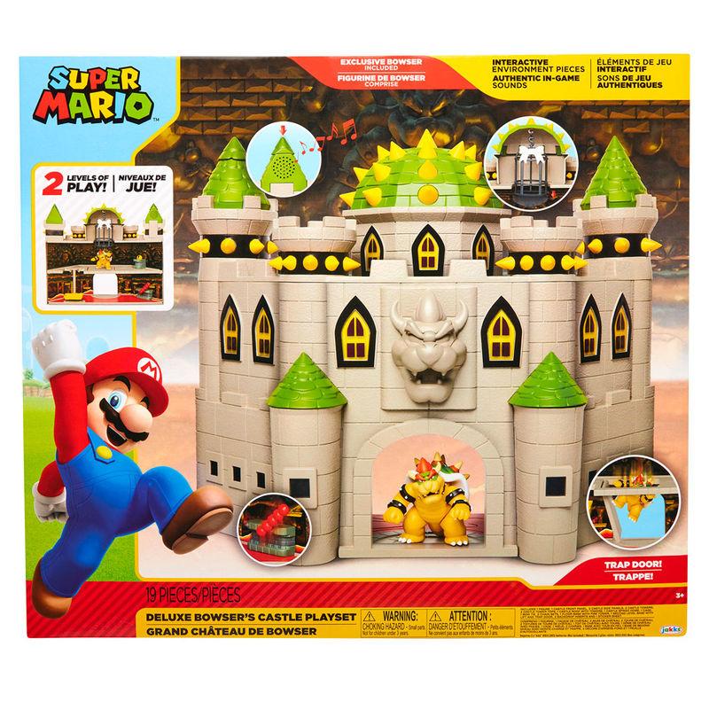 Playset Castillo Bowser deluxe Mario Bros 192995400207