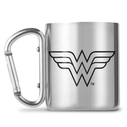 Taza mosqueton Wonder Woman DC Comics