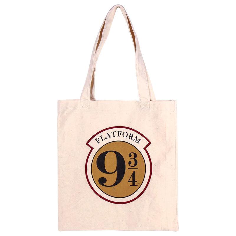 Bolso shopping tela Platform 9 3/4 Harry Potter algodón