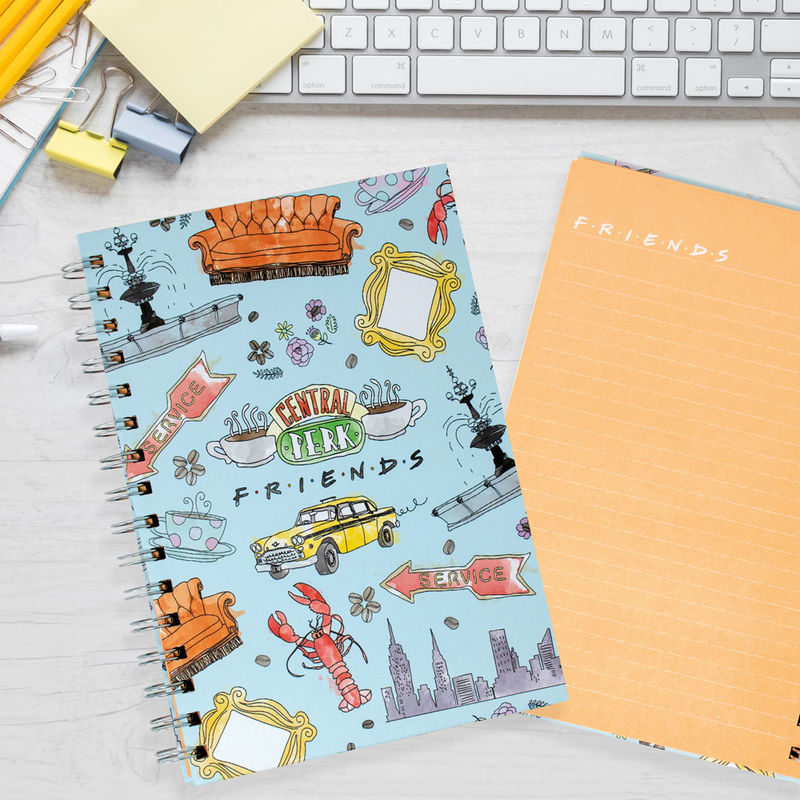 Cuaderno A5 Friends