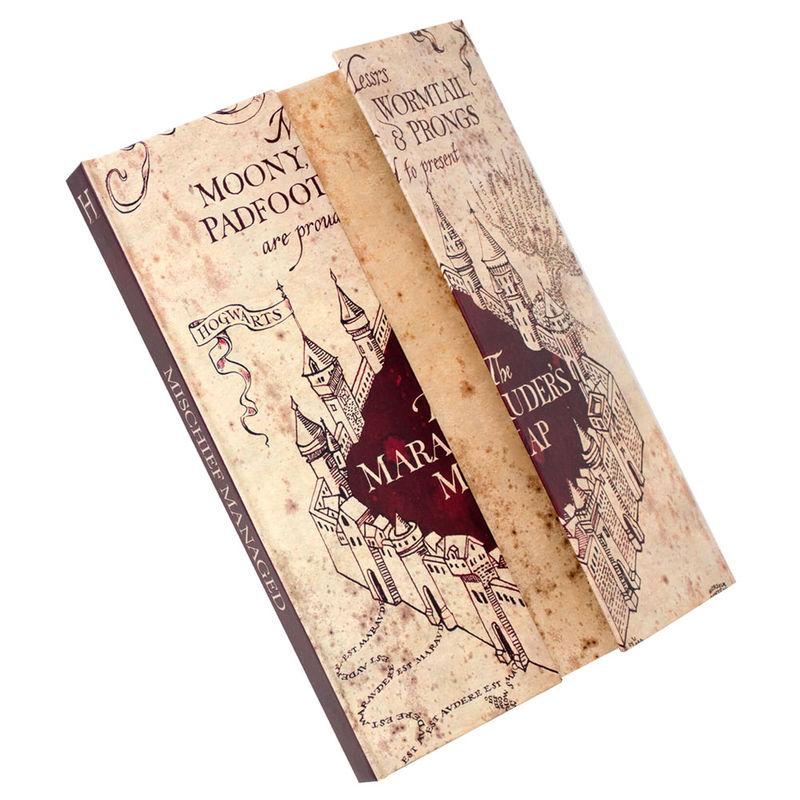 Cuaderno A5 Mapa del Merodeador Harry Potter