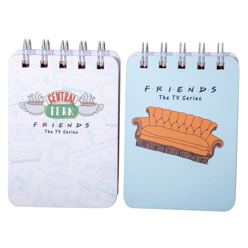 Pack 2 cuadernos Friends