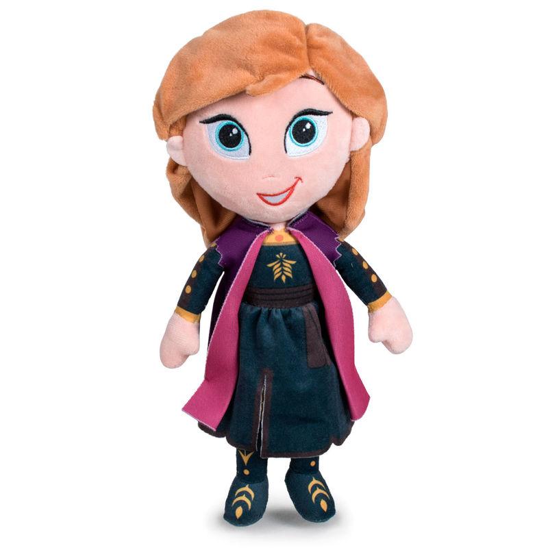 Peluche Anna Frozen 2 Disney 30cm 8425611384356Anna