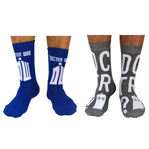 Pack 2 calcetines Tardis Doctor Who