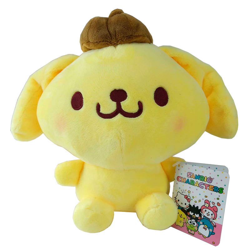 Peluche Pompompurin Hello Kitty Sanrio 23cm 5055270310583Pompompurin