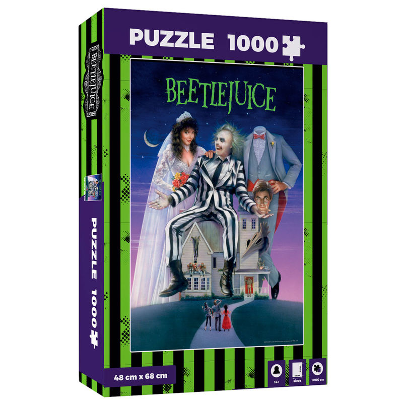 Puzzle Movie Poster Beetlejuice 1000pzs 8435450233463