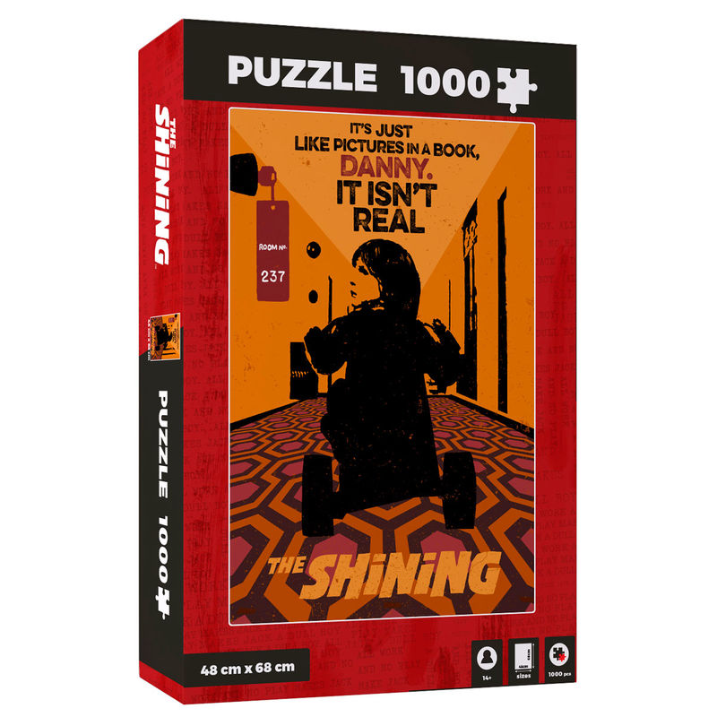 Puzzle It Isnt Real The Shinning 1000pzs 8435450233487