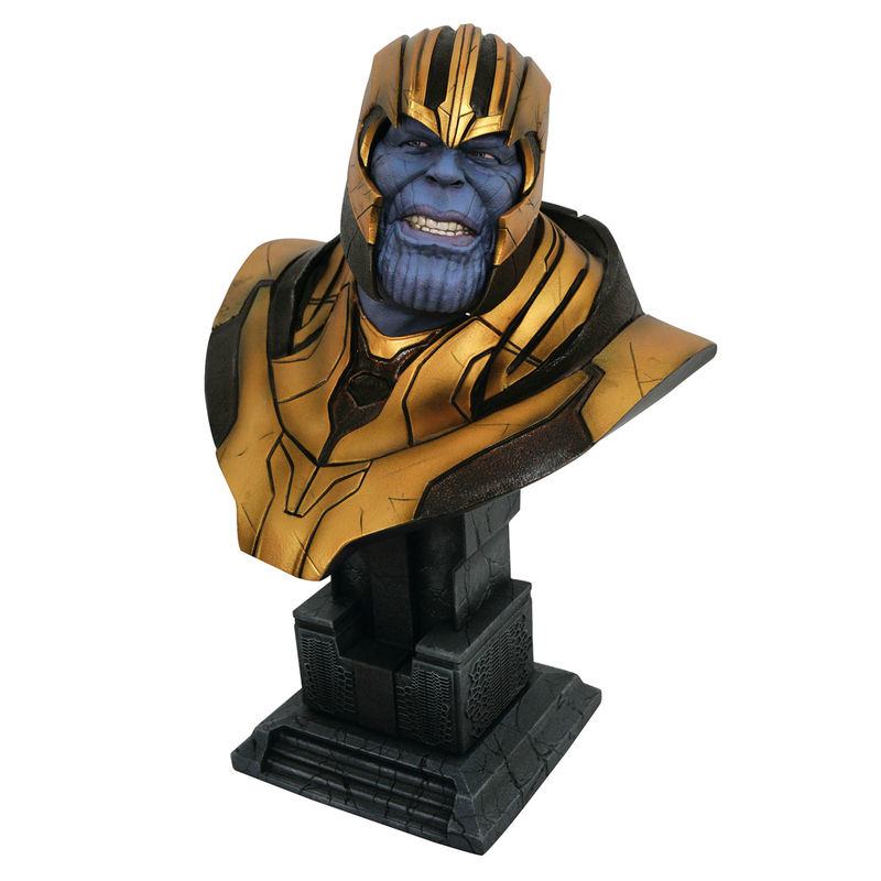 Busto 1/2 Thanos Legends in 3D Vengadores Infinity War Marvel 28cm