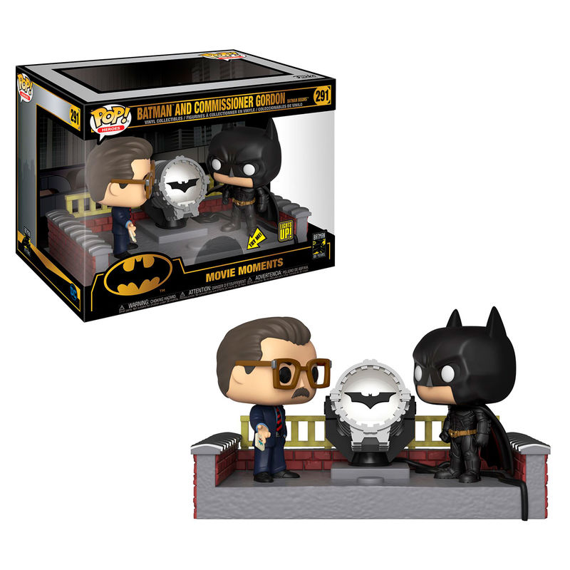 Funko POP o Figura POP DC Comics Batman 80th with Light Up Bat Signal
