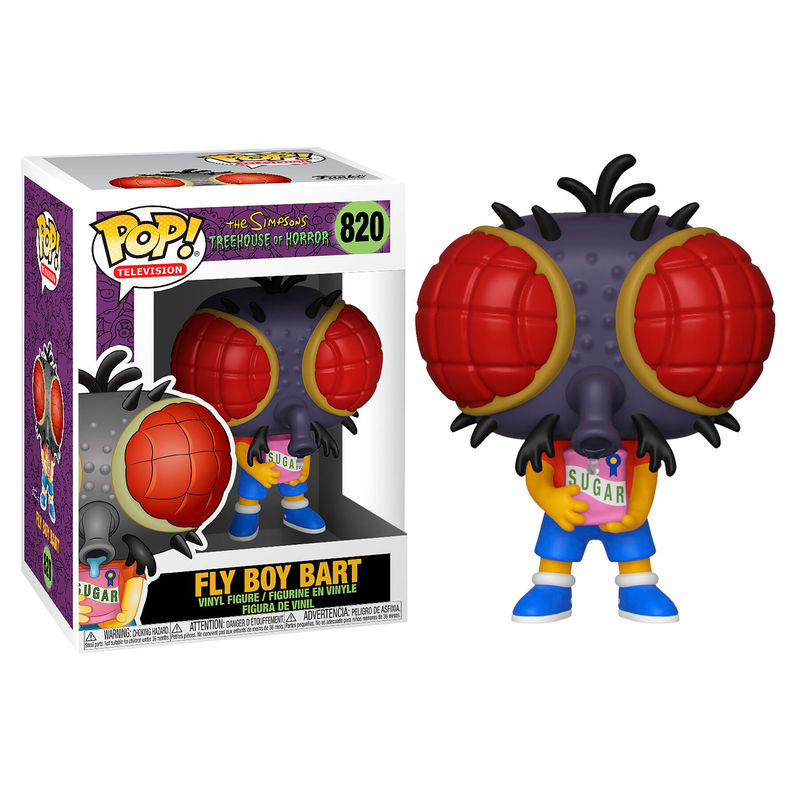 Figura POP Simpsons Niño mosca Bart