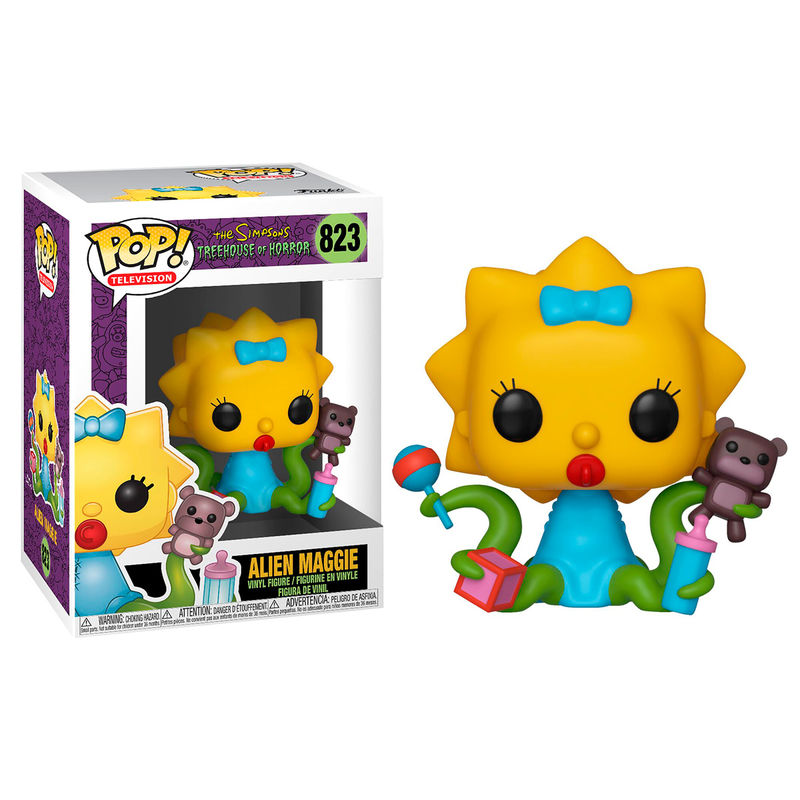 Funko POP o Figura POP Simpsons Maggie Alien