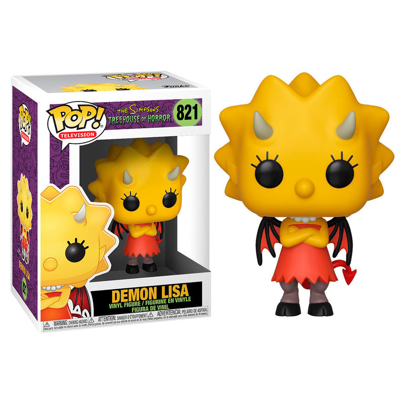 Funko POP o Figura POP Simpsons Demon Lisa