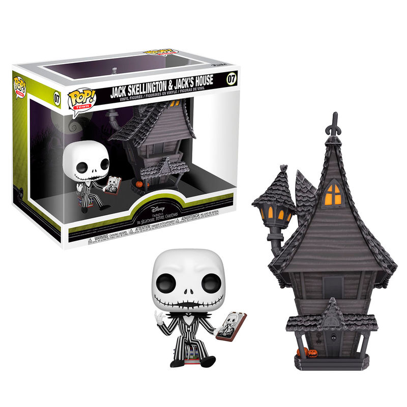 Funko POP o Figura POP Disney Pesadilla Antes de Navidad Jack with Jacks House