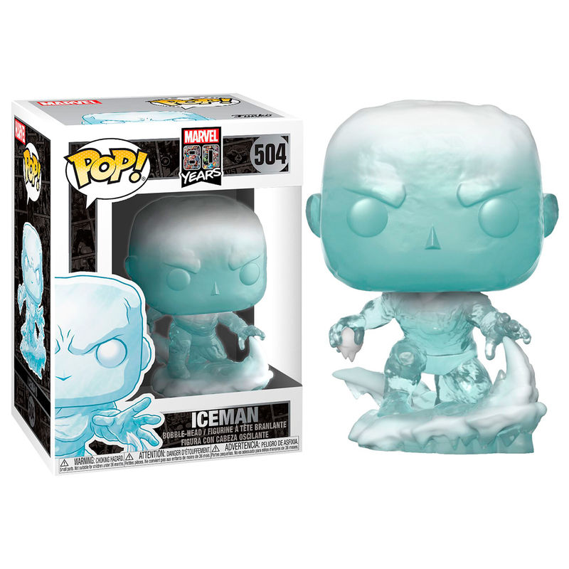Figura POP Marvel 80th First Appearance Iceman
