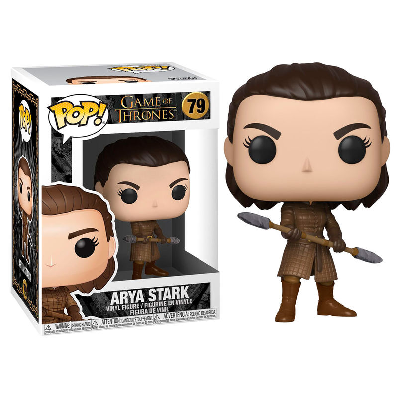 Funko POP o Figura POP Juego de Tronos Arya with Two Headed Spear