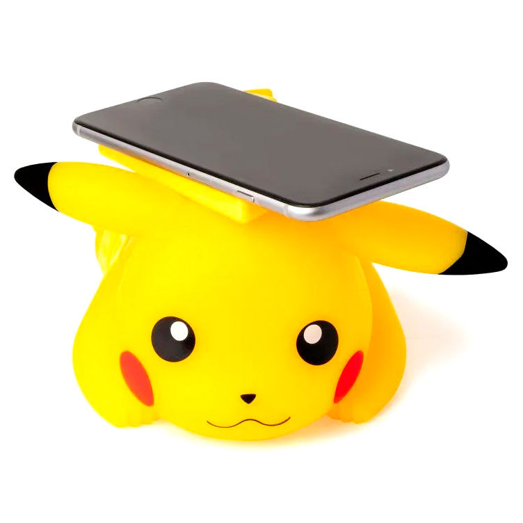 Cargador inalambrico Pikachu Pokemon
