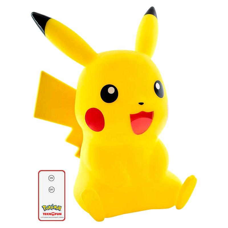 Lampara Led 3D Pikachu Pokemon (5)
