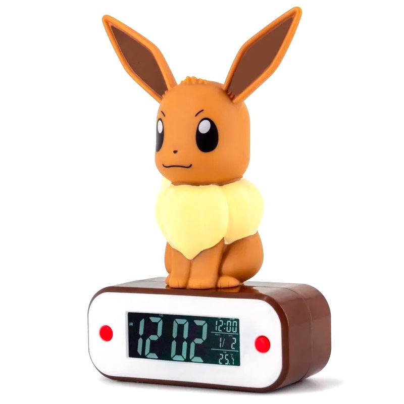 Lampara despertador Led Eevee Pokemon