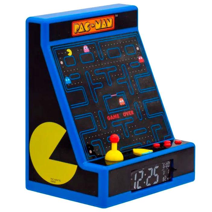 Lampara despertador Led Maquina Recreativa Pac-Man