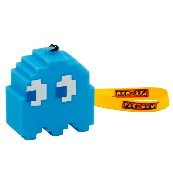 Lampara Led 3D Fantasma Azul Inky Pac-Man