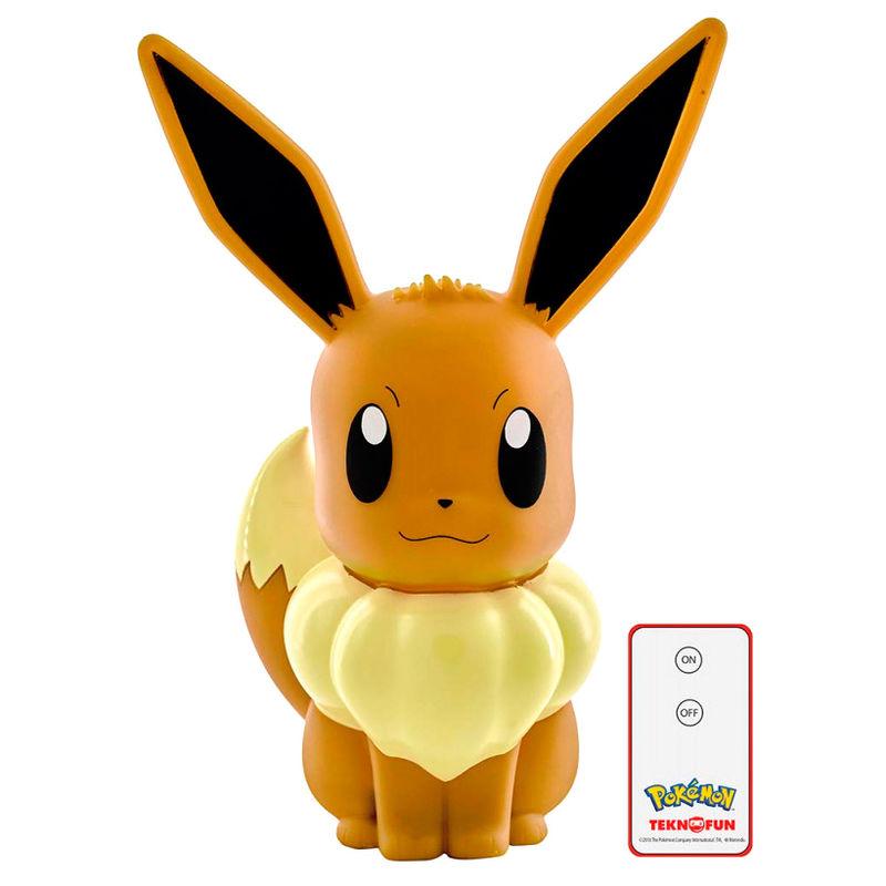 Lampara Led 3D Eevee Pokemon