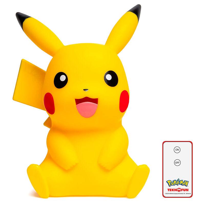 Lampara Led 3D Pikachu Pokemon