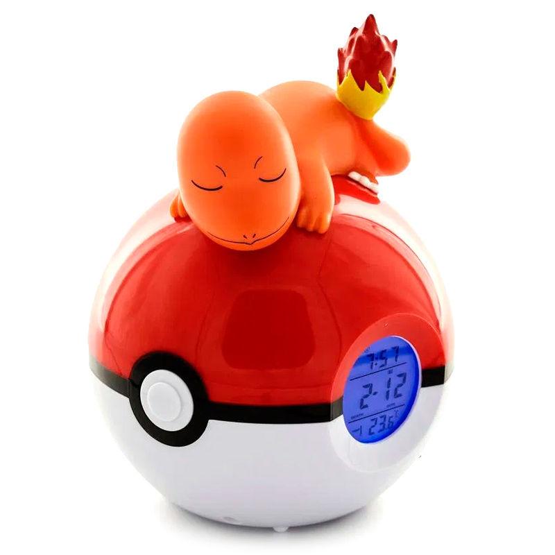Lampara despertador Led Charmander Pokeball Pokemon