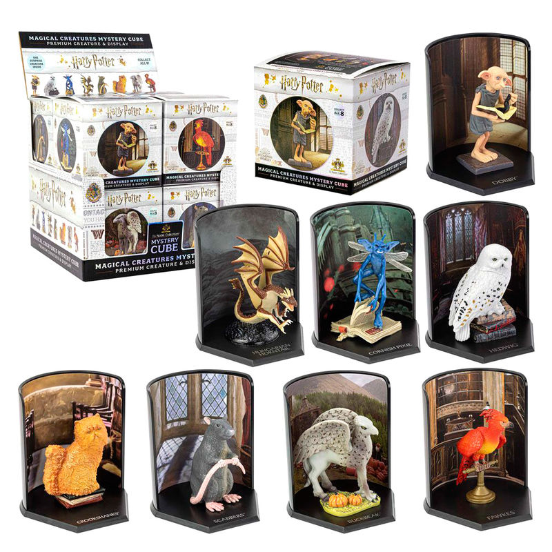 Figura Mystery Cube Magical Creatures Harry Potter 7cm 849421006044