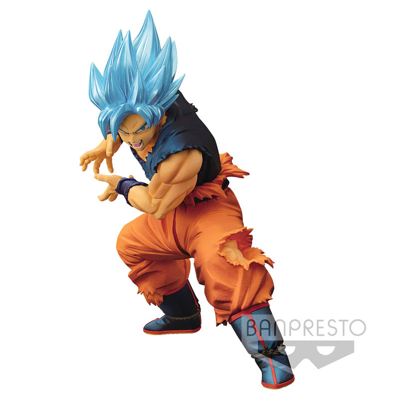 Figura Maximatic SSGSS Son Goku Dragon Ball Super 20cm By Banpresto