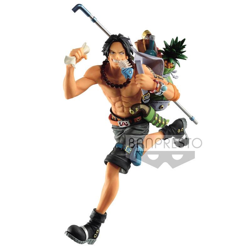 Figura Portgas D. Ace Three Brothers One Piece 14cm By Banpresto