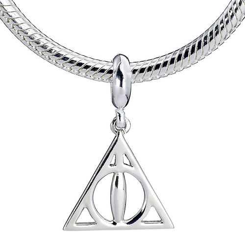 Colgante charm plata Deathly Hallows Harry Potter