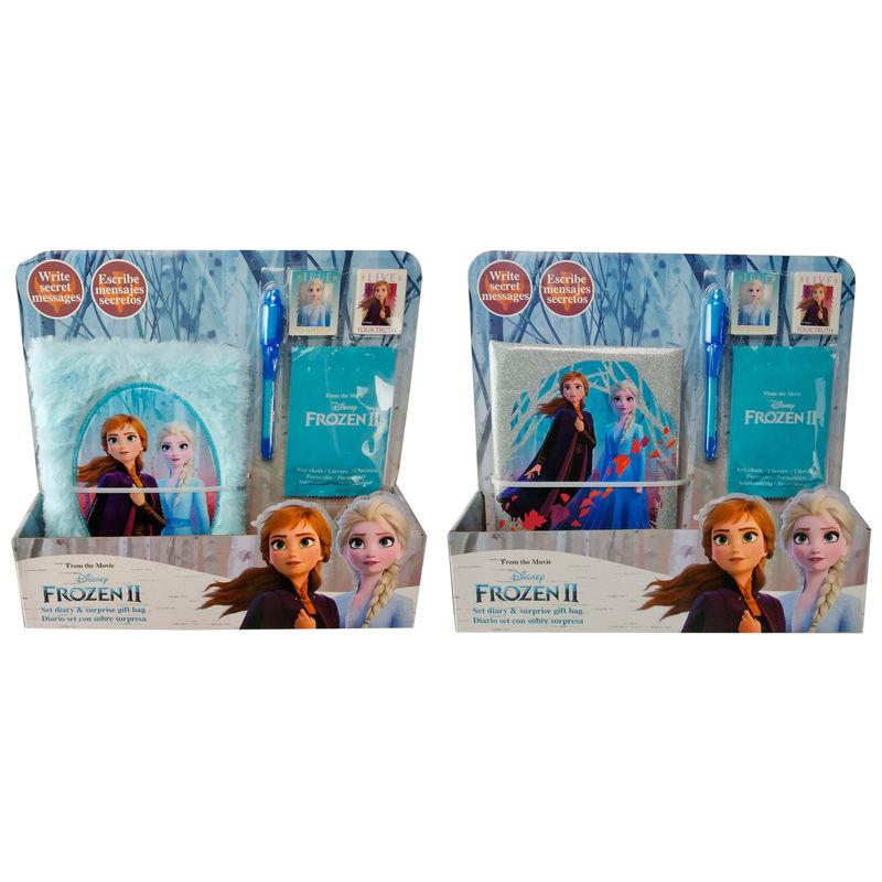 Set diario secreto + boli + sobre Frozen 2 Disney