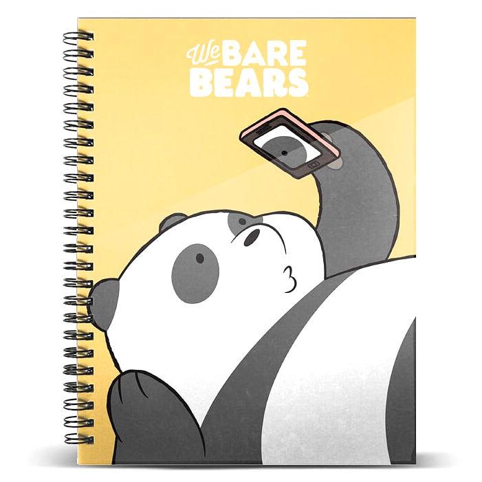 Cuaderno A4 Oso Panda Somos Osos