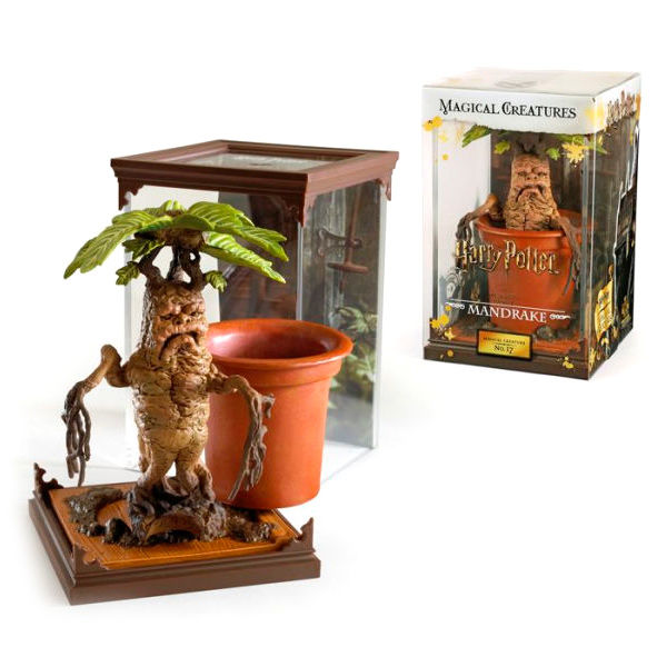 Figura Mandragora Criaturas Magicas Harry Potter 13cm