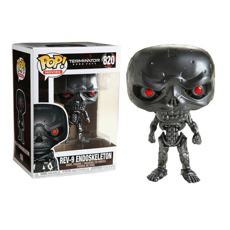Funko POP o Figura POP Terminator Dark Fate Rev-9 Endoskeleton