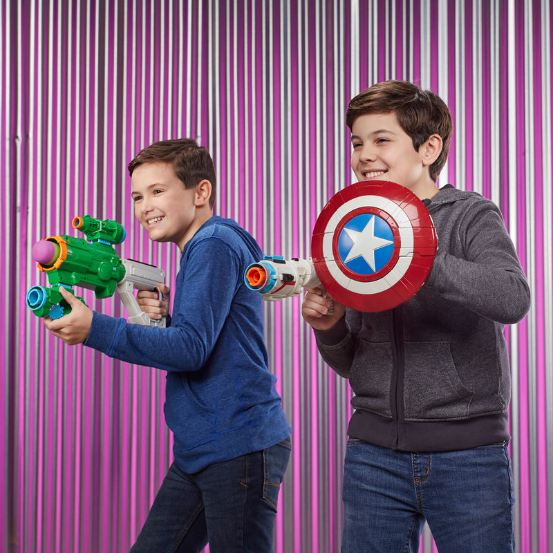 Lanzador Assembler Gear Hulk Vengadores Avengers Marvel By Hasbro